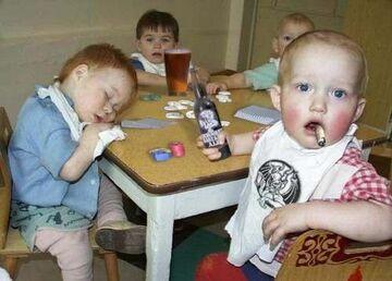 Maluchy imprezują