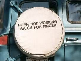 HORN NOT WORKING WATCH FOR FINGER
