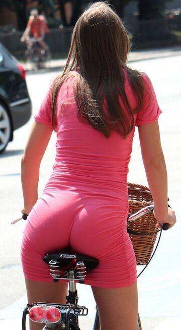 Takie tam, na rowerku
