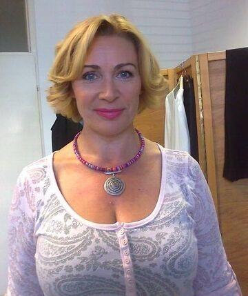 Dojrzała blondynka