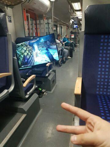 Kiedy jedziesz w długą podróż pociągiem