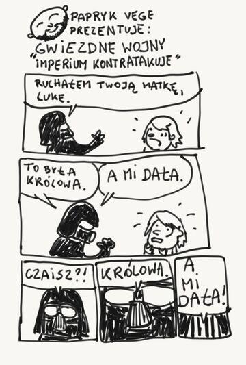"""Patryk Vega prezentuje """"Gwiezdne wojny: Imperium kontratakuje"""""""