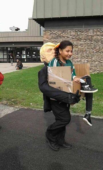 Trump: Kostium na Halloween