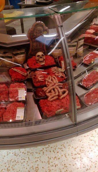 Tymczasem na dziale z mięsem