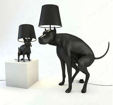 Dziwne te lampy