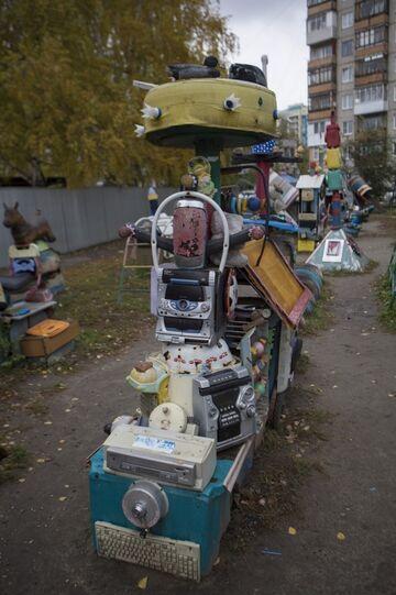 Plac zabaw dla dzieci w Rosji