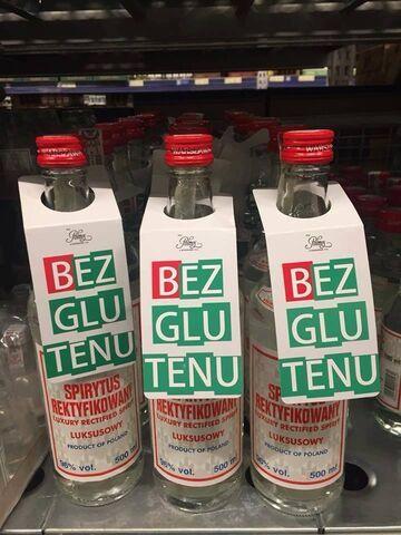 """Jak zwiększyć sprzedaż spirytusu? """"Bez glutenu"""""""