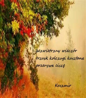 haiku jesienne