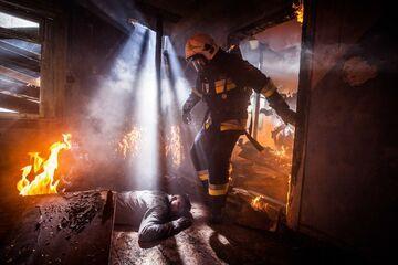 """""""Ponad strach"""" - Mieszkanie w płomieniach"""