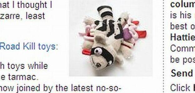 Najbardziej niesmaczna zabawka na świecie