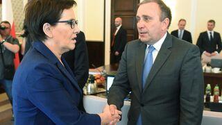 Olejnik pyta Schetynę o Dudę, a ten: Jest prezydentem wszystkich Polaków