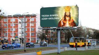 Tajemnicze katolickie billboardy