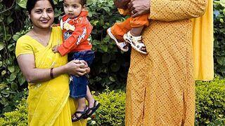 Najwyższa kobieta ma metrowe niemowlę