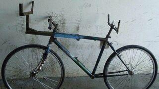 Oto rower do kradzieży drewna!