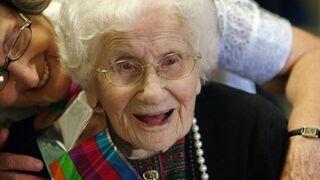 114-latka zdradza sekret długowieczności