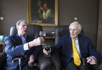 Najstarsze bliźnięta zdradzają przepis na długowieczność