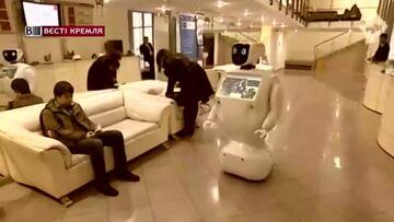 Robot uciekł z rosyjskiego laboratorium. Zatrzymała go policja