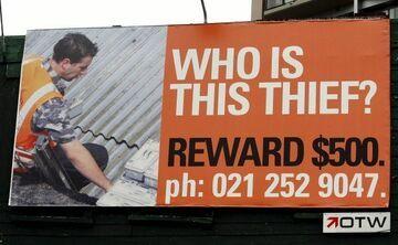 Reklama: szukają złodzieja... na billboardach