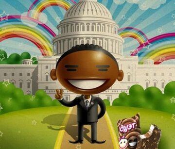 """""""Czarny w białym"""". Obama znów """"ofiarą"""" reklamy"""