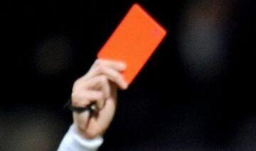 18 czerwonych kartek i cała drużyna wyrzucona