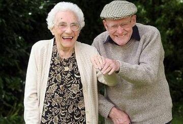 101-letnia para świętuje 81. rocznicę ślubu