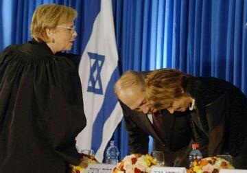 Izrael: Pani prezes sądu dostała butem w twarz