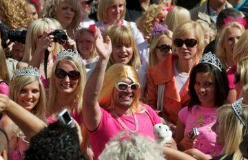 Ponad 800 blondynek maszerowało w Rydze