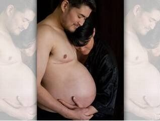 Mężczyzna w ciąży urodził dziewczynkę