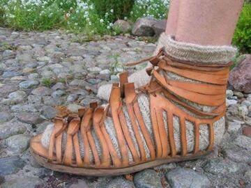Rzymianie nosili skarpetki do sandałów!