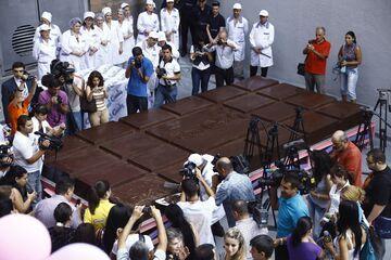 Największa tabliczka czekolady na świecie