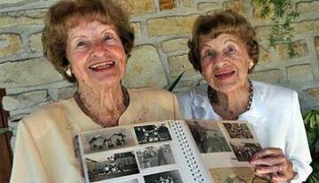 Najstarsze bliźniaczki świata zdradzają sekret długiego życia