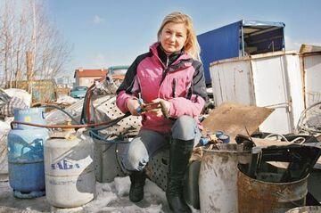 Agnieszka Sokolik: Wolę zbierać złom niż być modelką