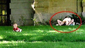 Uprawiali seks w parku na oczach dziecka