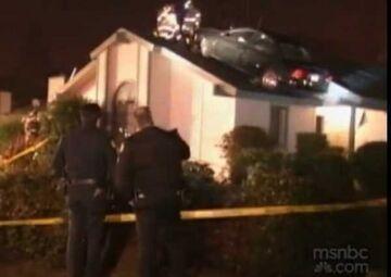 Perfekcyjnie zaparkował na dachu domu