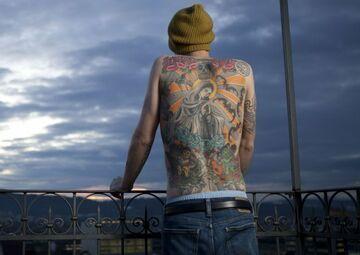 Sprzedał tatuaż na plecach za 150 tys. euro
