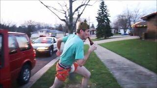 Ucieczka przed policją z piwem