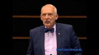Korwin zaorał Parlament Europejski