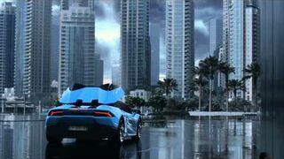 Reklama Lamborghini Huracán LP 610-4 Spyder