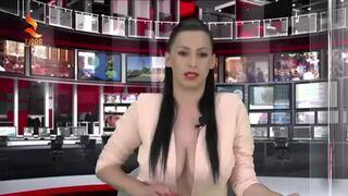 Prezenterka albańskiej telewizji