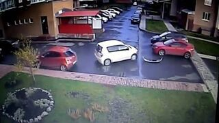 Wyjazd z parkingu po mistrzowsku