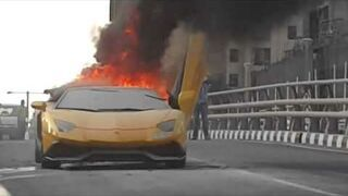 Piłowanie Lamborghini Aventador