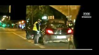 Korupcja w drogówce na nagraniach monitoringu