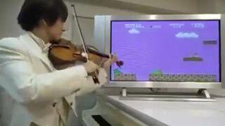 Super Mario i skrzypek!