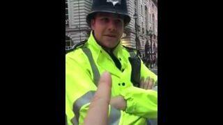 Brytyjska policja to najbardziej wyluzowana policja na świecie