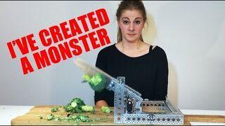 Stworzyła maszynę do krojenia!