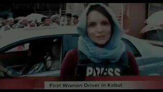 Pierwsza kobieta za kółkiem w Kabulu