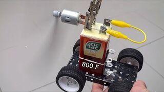 Superkondensator 800F domowym sposobem