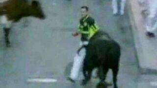 Mocne akcje z gonitwy byków