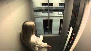 Bardzo szybka winda w Rosji - Prank