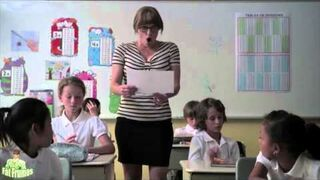 Nauczycielka Sandra i jej reakcja na swoją karykaturę